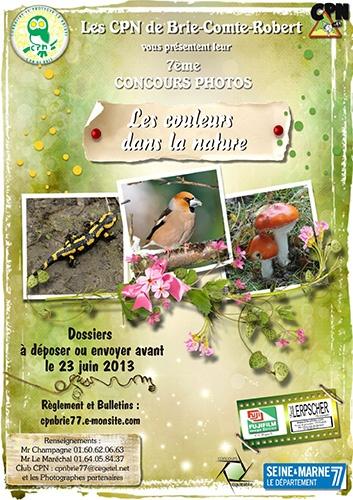 Concours photo nature du Club CPN de Brie Comte Robert agenda evenements archives 2013  Les couleurs dans la nature concours photo BRIE COMTE ROBERT